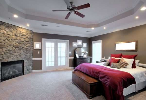 Large Bedroom carpeting options