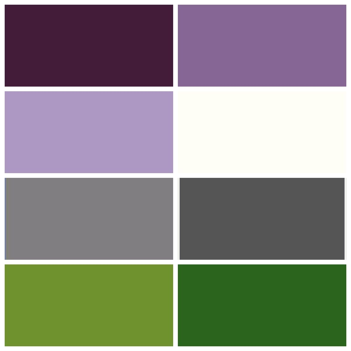 violet grey and green carpet colour combinations